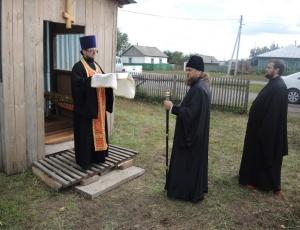 Святительский визит в Краснозерский район