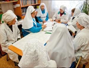 Состоялась встреча по обмену опытом сестер милосердия
