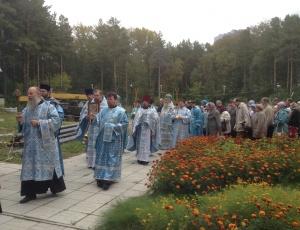 Престольный праздник в приходе в честь Рождества Пресвятой Богородицы
