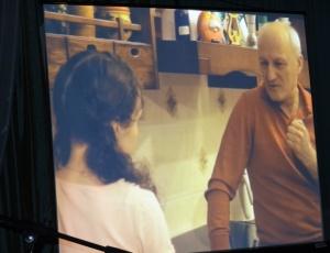 В ИК-9 показали фильм священника Александра Новопашина «Меня это не касается»