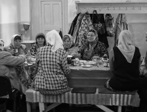 На Крестовоздвижение – общение с прихожанами далёкого села