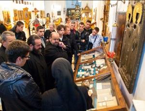 Группа паломников в сане и студентов Цетиньской духовной семинарии побывала в древнем московском храме
