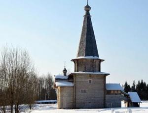 Русские деревянные храмы как идеал красоты