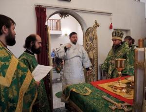 Праздник преподобного Сергия Радонежского в Кафедральном соборе г. Карасука (видео)
