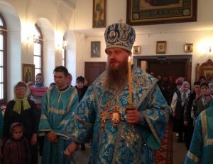 Епископ Искитимский и Черепановский Лука совершил всенощное бдение накануне престольного праздника в Линево