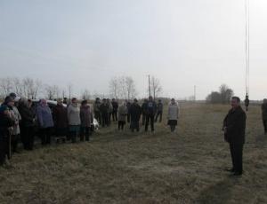 Установлен поклонный крест на въезде в с. Ирбизино и с. Крыловку Карасукского района
