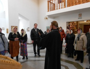 Союз инвалидов собрался перед святынями