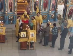 Икона преподобного Серафима Саровского с частицей мощей будет пребывать в Барабинске