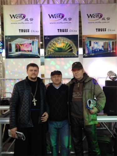 Православные побывали на международной музыкальной выставке проходящей в Сокольниках