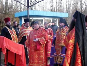 Молебен Новомученикам и Исповедникам Новосибирским на Святом ключе