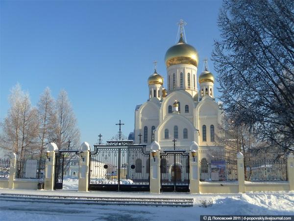 С 31 на 1 января будет совершаться всенощное бдение в Троице-Владимирском соборе Новосибирска