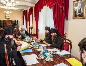 Состоялся Архиерейский совет Новосибирской митрополии