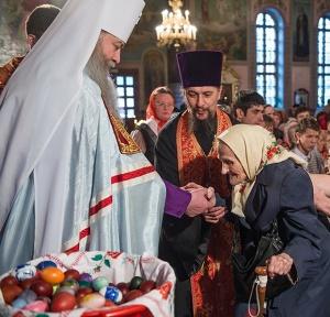 Праздничные Богослужения в Вознесенском кафедральном соборе