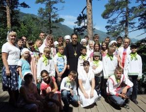 Паломническая поездка детей в Горный Алтай