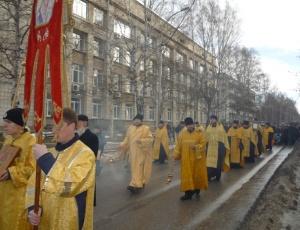 Традиционный крестный ход в Академгородке (фоторепортаж)