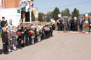 Митрополит Тихон поздравил учащихся Православной гимназии города Бердска с началом нового учебного года
