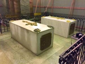 Владыка Тихон: Захоронение императора Александра III не вскрывалось ранее, исследования будут продолжены