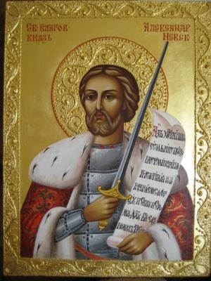 6 декабря - День памяти святого благоверного князя Александра Невского (в схиме Алексия)