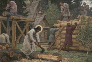 Первые русские иноки на Афоне: 1000 лет