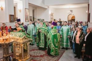 В храмах Новосибирской Епархии в новогоднюю ночь прошли богослужения