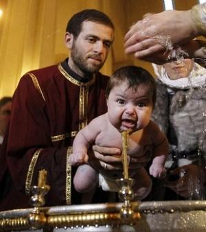 Почему Православная Церковь крестит младенцев?