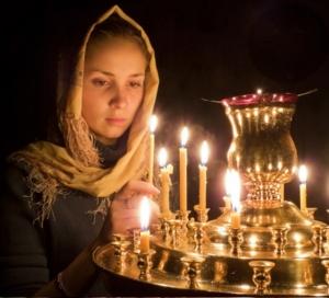 О церковных свечах и их значении в Православной Церкви