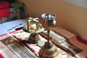 Таинство Евхаристии: преложение и пресуществление