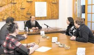 Состоялась встреча Митрополита Тихона и общественного деятеля Софии Табаровской
