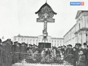 На территории Кремля планируют воссоздать крест в память о Великом князе Сергее Александровиче