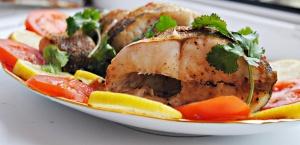 Кушанья  из  «чёрных»  рыб