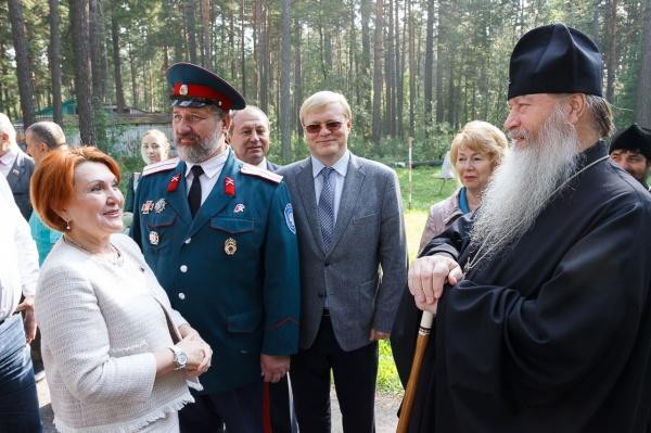 Открыта профильная смена в военно-патриотическом лагере «Полевой стан»