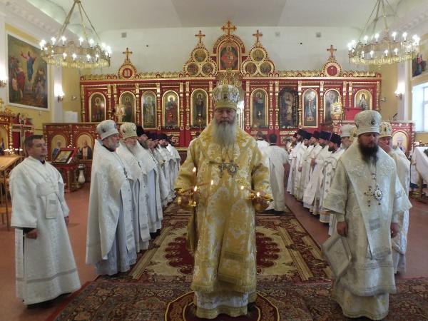 Митрополит Тихон в день своего тезоименитства рассказал о главном долге священника